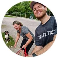 Barbara Testimonial Personal Training mit Hund