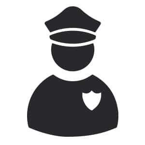 Icon Polizei