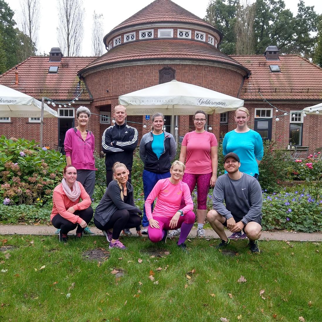 Laufgruppe Hamburg Stadtpark Ralfletics - Alles läuft Trinkhalle im Stadtpark
