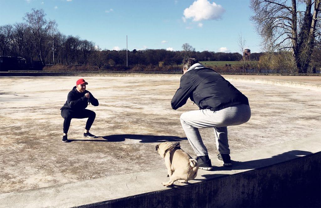 Personal Training mit Hund