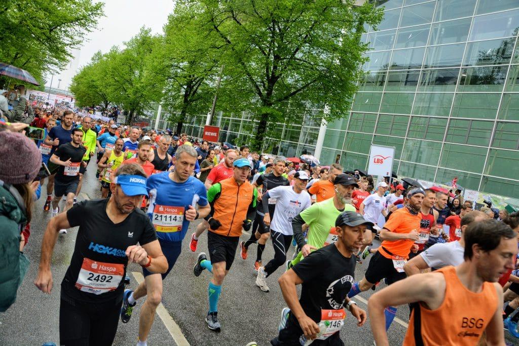 Start Hamburg Marathon 2019