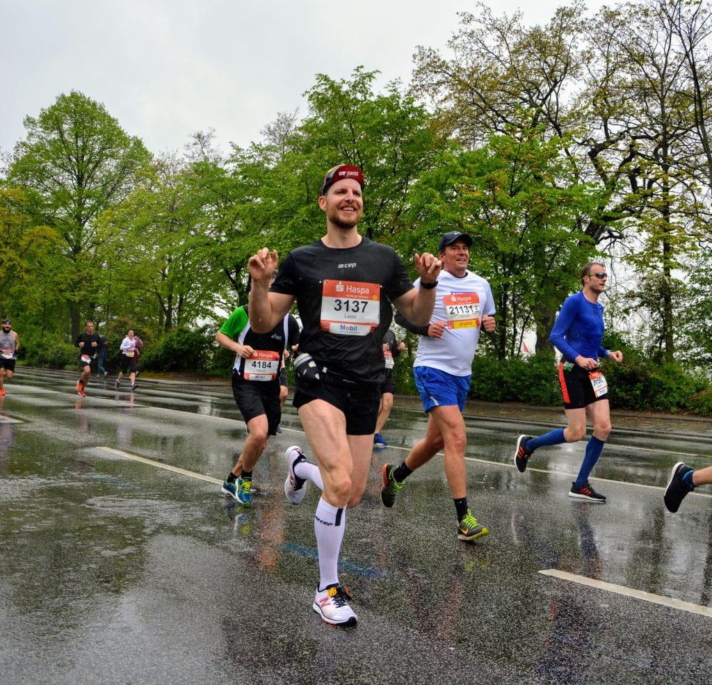 Haspa Marathon erstes Drittel