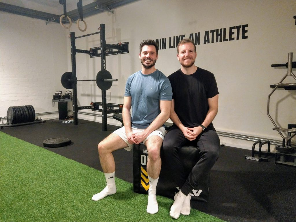 Leon Ralf mit Christopher bei Private Fitness