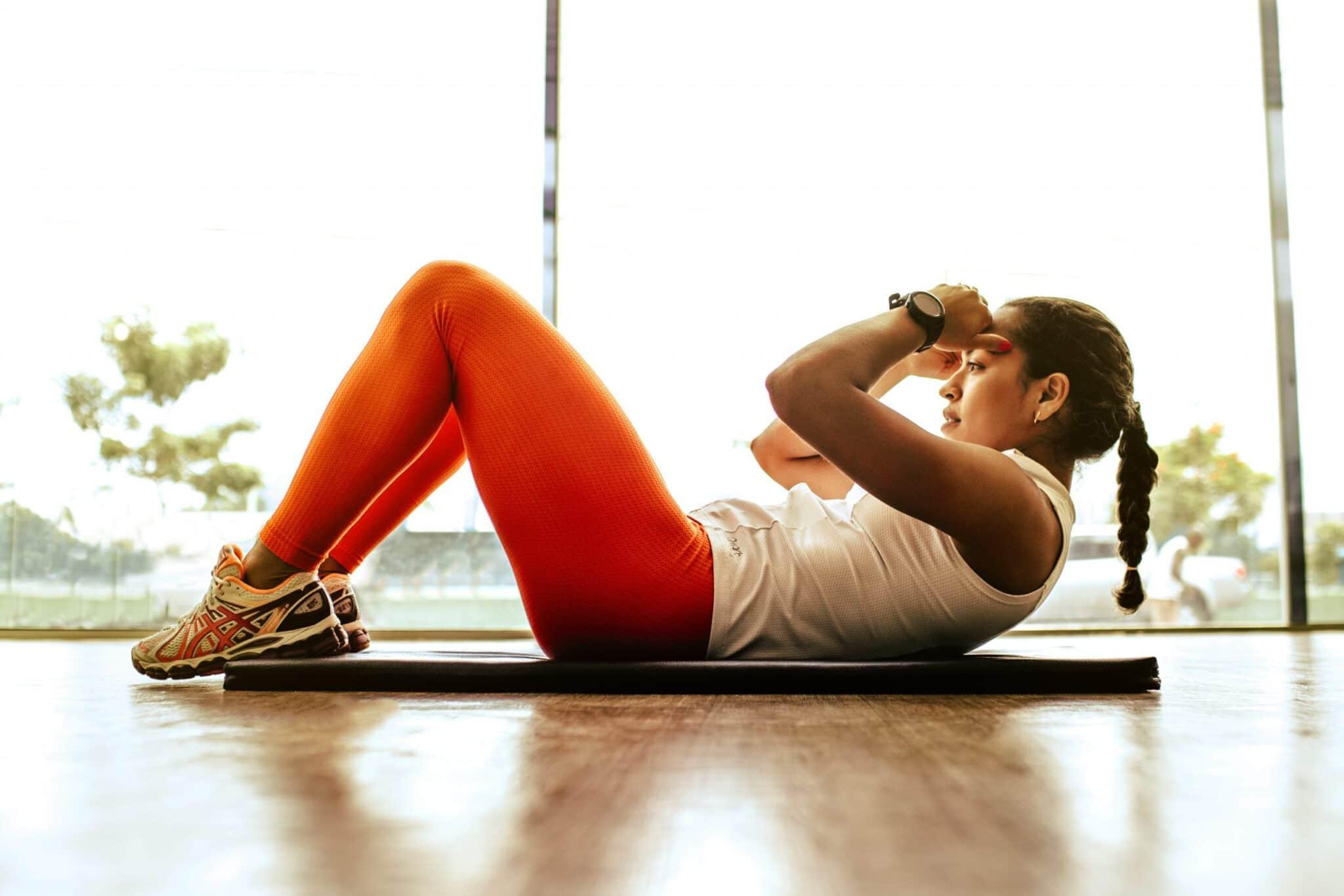 Crunch beim Personal Training