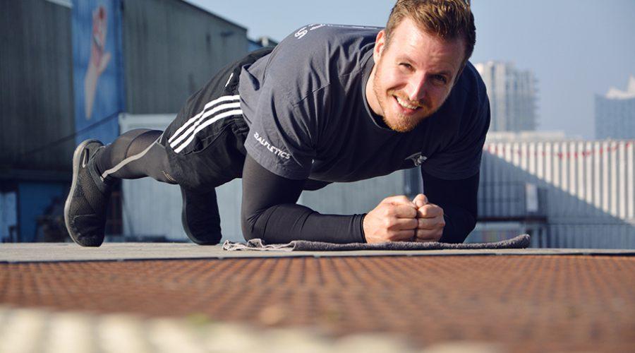 Lauftraining Hamburg Hafencity Plank Leon Ralf - Personal Training Hamburg