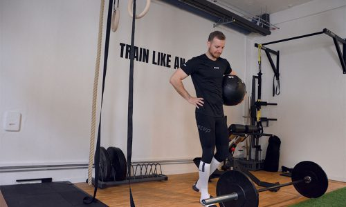 Muskelaufbau Private Fitness Leon Ralf