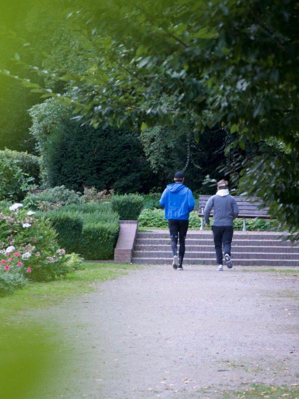 Lauftraining mit Tobi im Stadtpark