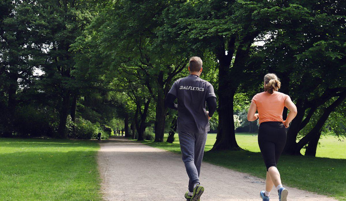 Lauftraining Hamburg im Stadtpark mit Personal Trainer