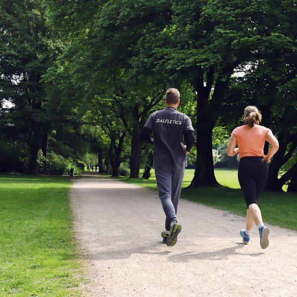 Lauftraining Hamburg im Stadtpark Personal Trainer