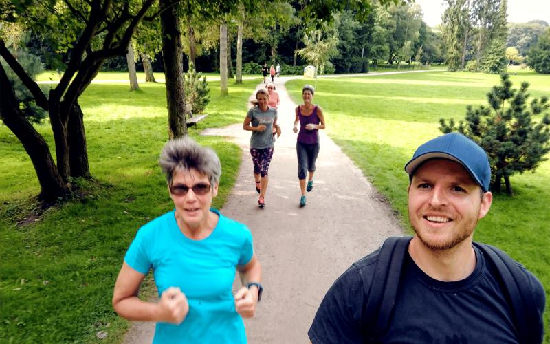 Gruppentraining für Läufer Leon Ralf - Personal Training Hamburg